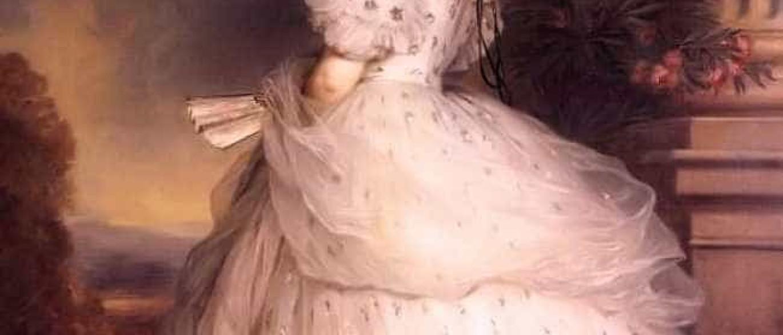 Portrait de Elisabeth de Bavière impératrice de en ...
