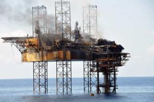 Sondagem para produção de petróleo e gás em Angola
