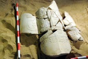 Arqueólogos encontram mausoléu do 'guardião do deus Amon'