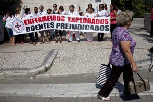 Profissionais de saúde do Algarve fazem greve em defesa do SNS