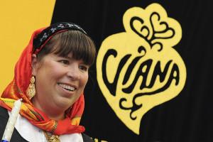 Joana Vasconcelos inaugura Exposição Nacional do Bunho