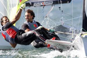 Jorge Lima/José Costa colocam 49er português nos Jogos Olímpicos