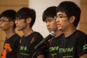 Estudantes convocam referendo civil para decidir futuro de protestos
