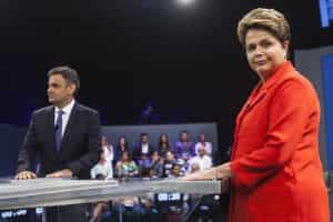 Dilma e Aécio trocam acusações no último debate antes da 2.ª volta