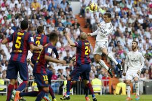 Ronaldo e Pepe na vitória do Real sobre o Barcelona