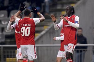 Sporting de Braga derrota Paços de Ferreira e sobe a terceiro