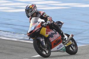 Miguel Oliveira 16.º na corrida de Moto3 do Qatar