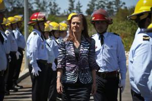 Ministra anuncia mais três milhões de euros para os bombeiros