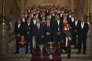 Luís Filipe Vieira diz que o título celebra o Benfica no mundo