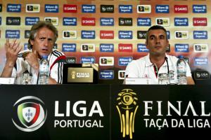 Jesus garante um Benfica igual a si mesmo na final da Taça da Liga