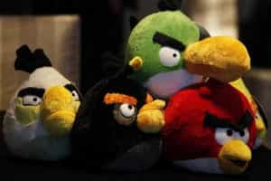 Jogar Angry Birds faz perder apetite
