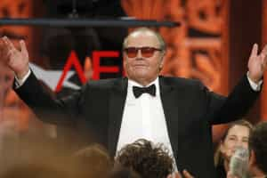Jack Nicholson sofre de Alzheimer