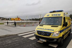 Colisão provoca um morto e cinco feridos