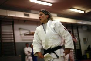 Telma Monteiro na final do Grand Slam de Abu Dhabi