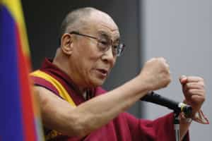 Dalai Lama insta China a reduzir censura