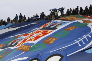 Claque do Bilbau chega sem segurança e provoca desacatos