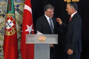 Portugal e Turquia assinam acordos de proteção