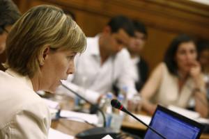 Maria Luís com reservas sobre maior intervenção de BCE