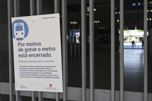Circulação do Metro suspensa às 23h20 devido a greve