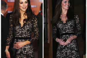 Os visuais 'reciclados' de Kate Middleton