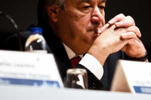 Candidatura de Guterres a Belém é apenas especulação