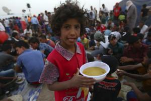 Uma em cada nove pessoas passa fome no mundo