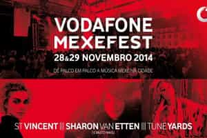 St. Vincent, Sharon Van Etten e Tune-Yards no Mexefest