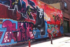 Lei incapaz de combater a realização ilegal de graffiti