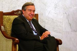 Presidenciais em segundo plano. Guterres quer ONU