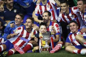 Atlético Madrid bate Real e conquista Supertaça