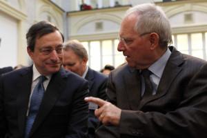 Schäuble acha que Draghi não foi bem interpretado