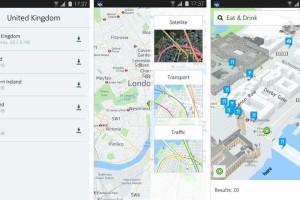 Mapas offline da Nokia chegam ao Android