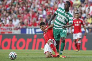 Arsenal e Manchester na Luz para ver William Carvalho