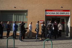 Desemprego aumenta em Espanha