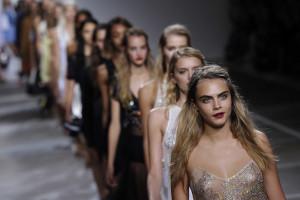 A Semana da Moda em Londres