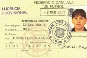 Messi assinala de forma especial os 14 anos no Barcelona