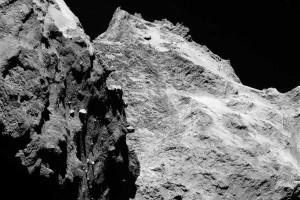 Reveladas primeiras imagens de proximidade de um cometa