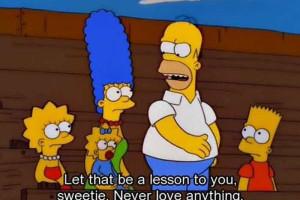 Os conselhos de vida dados pela família Simpson