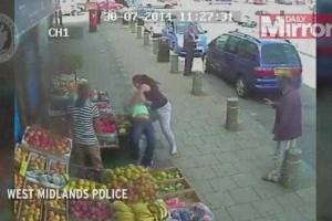 Mulher é agredida por condutora enraivecida