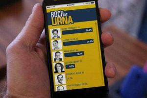Urnas de voto disponíveis para smartphones