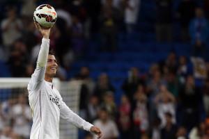 Póquer de Ronaldo na vitória do Real Madrid