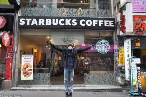 Gastar 130 mil euros para percorrer os Starbucks do mundo