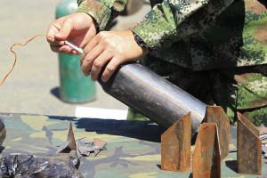 Exército apreende mais de três toneladas de explosivos