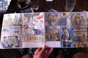 Este português está em Hong Kong a desenhar guarda-chuvas