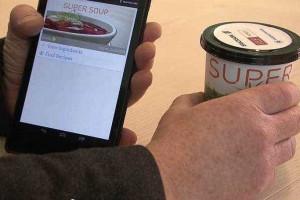 Etiqueta inteligente usa corpo para transmitir informação