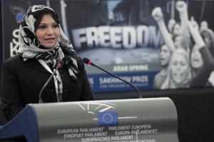 Asma Mahfouz proibida de sair do Egito