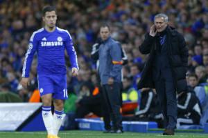 Mourinho dá 'puxão de orelhas' a Hazard