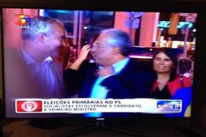 Fugitivo brasileiro apanhado na televisão ao lado de Costa