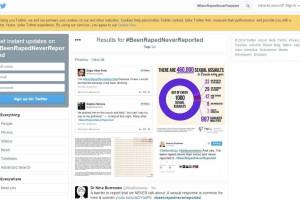 Histórias de violações chegam ao Twitter