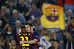 O 'golpe baixo' de Messi a Neymar
